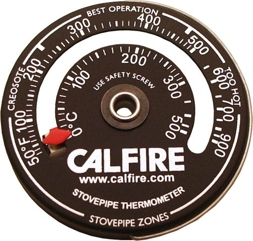 Magnetic Stovepipe Thermometer